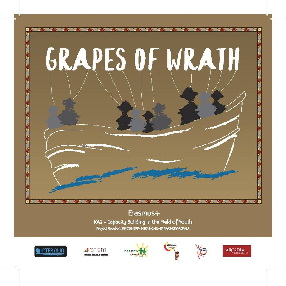 """Grapes of Wrath - Training course """"Project Cycle Management & Community Development"""" - Associazione PRISM"""